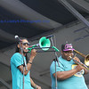 The Soul Rebels at Gentilly Stage first day of Jazz Fest 2013