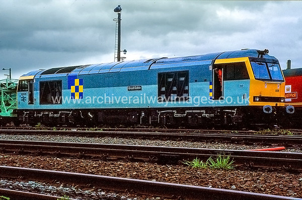 Class 60 Diesel Locomotives