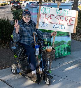 Nov 07 Castro Valley Protect the Results