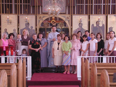 Community Life - Koimissis Liturgy - August 15, 2004