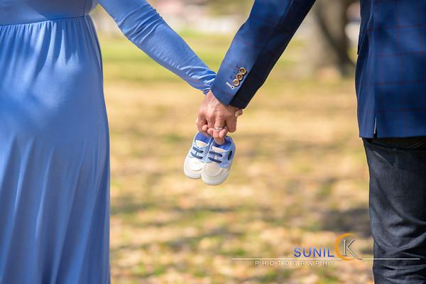 Neethu Maternity Photoshoot