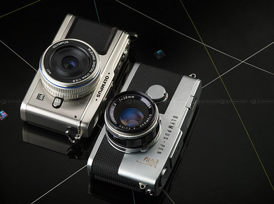 NEW Olympus E-P1 images ... CHECK OUT the YouTube Video at the Bottom of Page ... The PEN Story