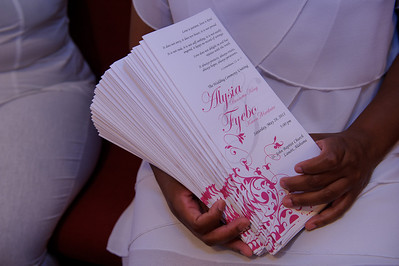Alysia & Fyebo Wedding - Ceremony