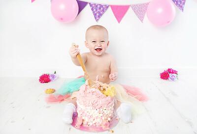 Rosie cake smash