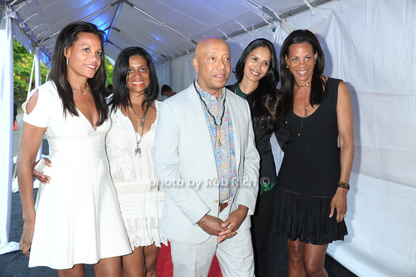 Kimberly Hatchett, Nina Cooper, Russell Simmons, Ujjwala Raut, and Karen Pablin