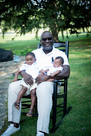 Terris King and Grandsons