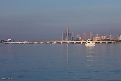 Detroit River near DYC 08/14/2009