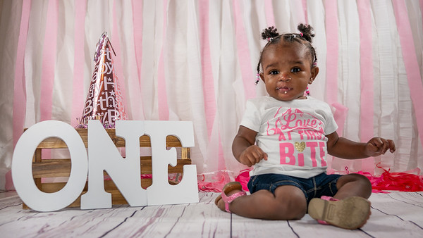 Maliah 1st Birthday