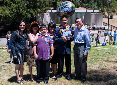 Khoa's Middle School Graduation - 2013