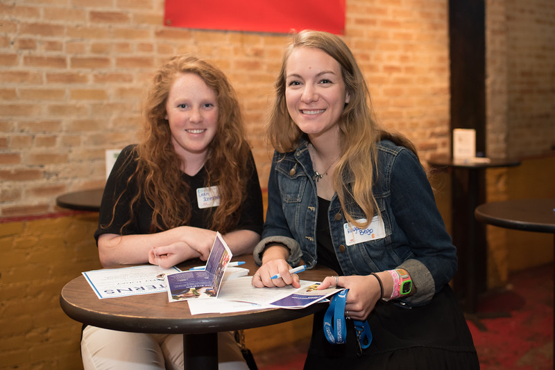 Leah Schellhamer and Reagan Bego during the COMM Week networking mixer at the House of Rock in Downtown Corpus Christi.More Photos: https://flic.kr/s/aHskxom92w