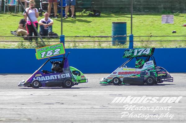 Ninja Karts, Aldershot, 15 August 2021
