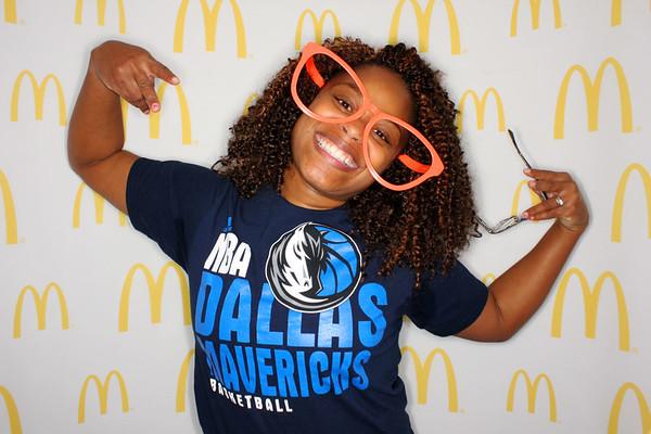 McDonald's - Mavs vs Warriors