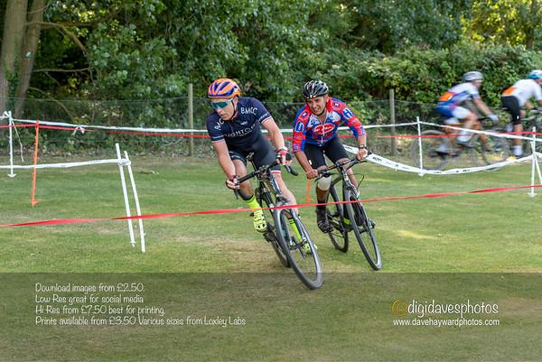 East Kent Cyclocross Sandwich Vets 08-09-2019
