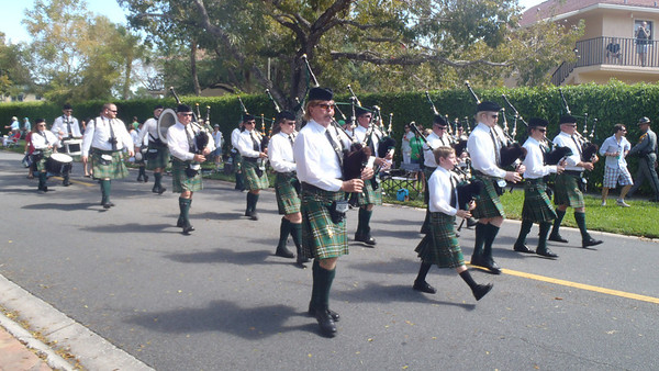St Patty's Day Parade Naples 2012