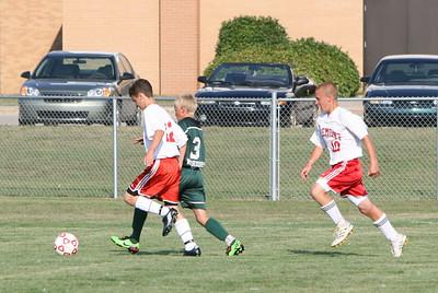 Boys JV Soccer - 2010-2011 - 8/31/2010 West Michigan Christian