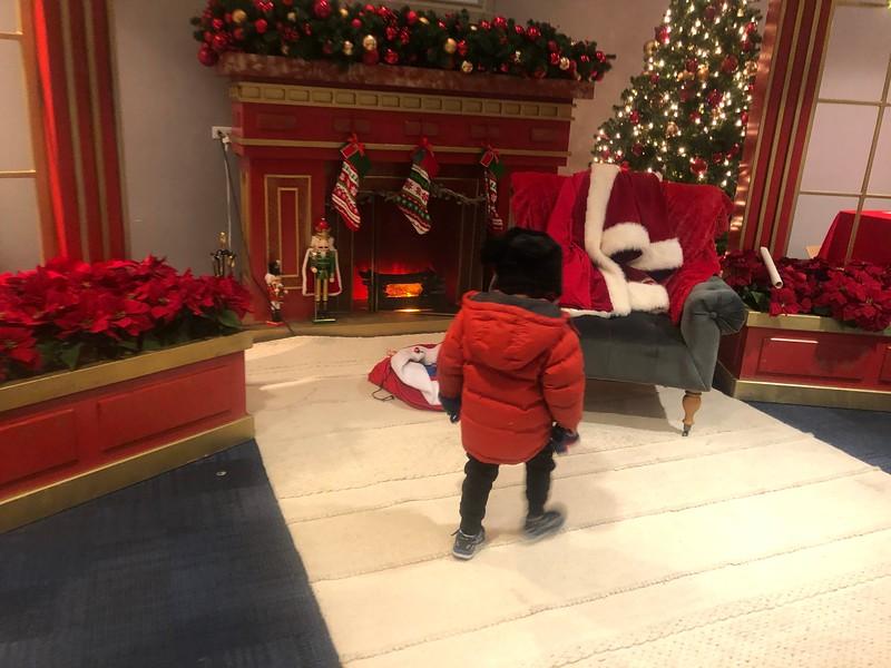 20191207 Santa at The Arboretum