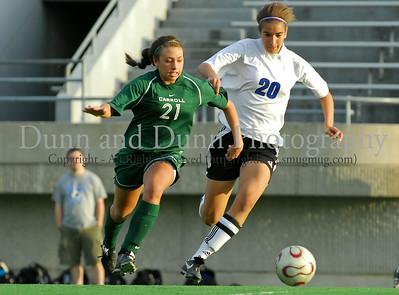 2007-04-04 Southlake Carroll v. Hebron- Soccer - Varsity Girls