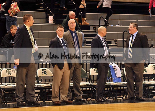 Boys Varsity Basketball Lansing Catholic vs Hastings - Holiday Hoops