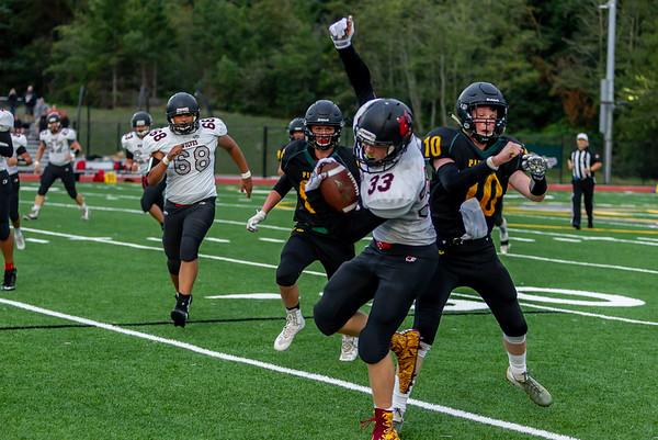 Best of Set four: Vashon Island High School Football v Coupeville 09/13/2019