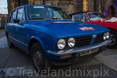 Monte Carlo Classic Car Rally (Rallye Monte Carlo Historique), Paisley, 25th January 2017