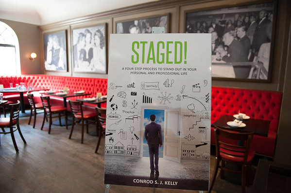 Staged! Book Launch