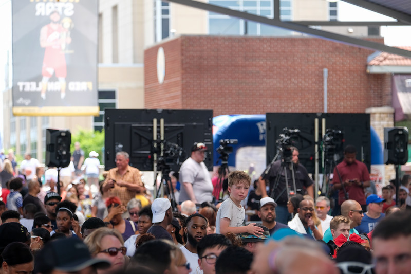 """""""Fred Comes Home"""" Celebration in downtown Rockford, IL"""