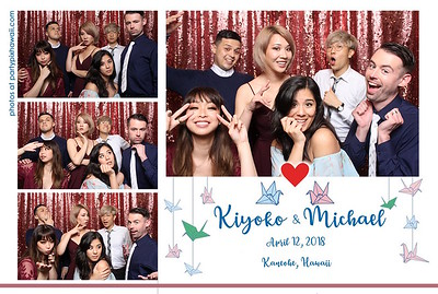 Kiyoko & Michael's Wedding (Mini Open Air Photo Booth 2)
