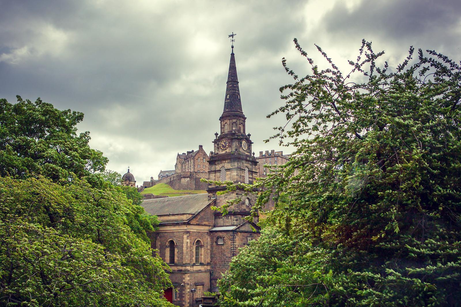 苏格兰爱丁堡,老城市老文化