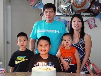 Jason's 10th Birthday