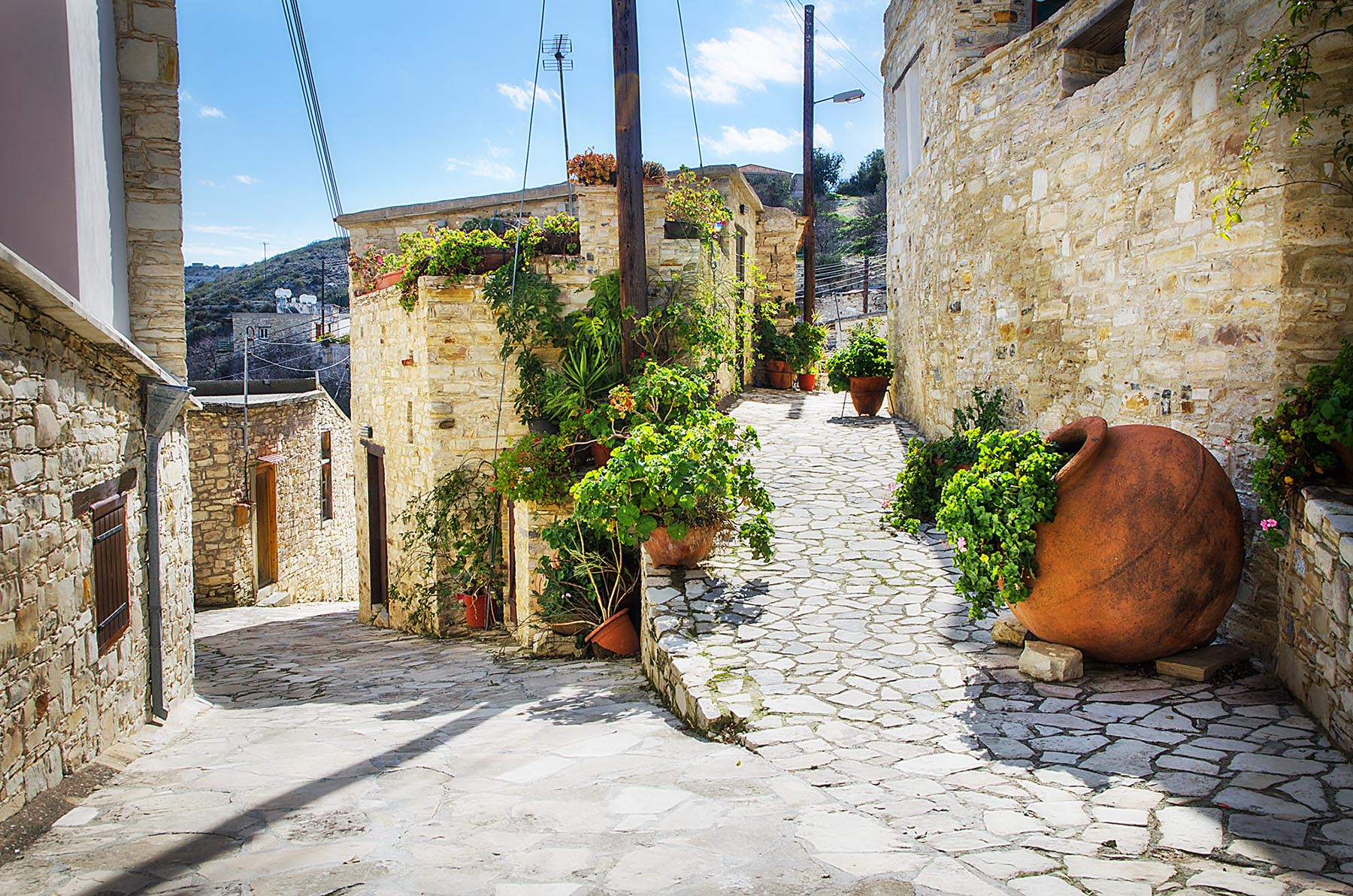Golden alleys of Vavla | Cyprus