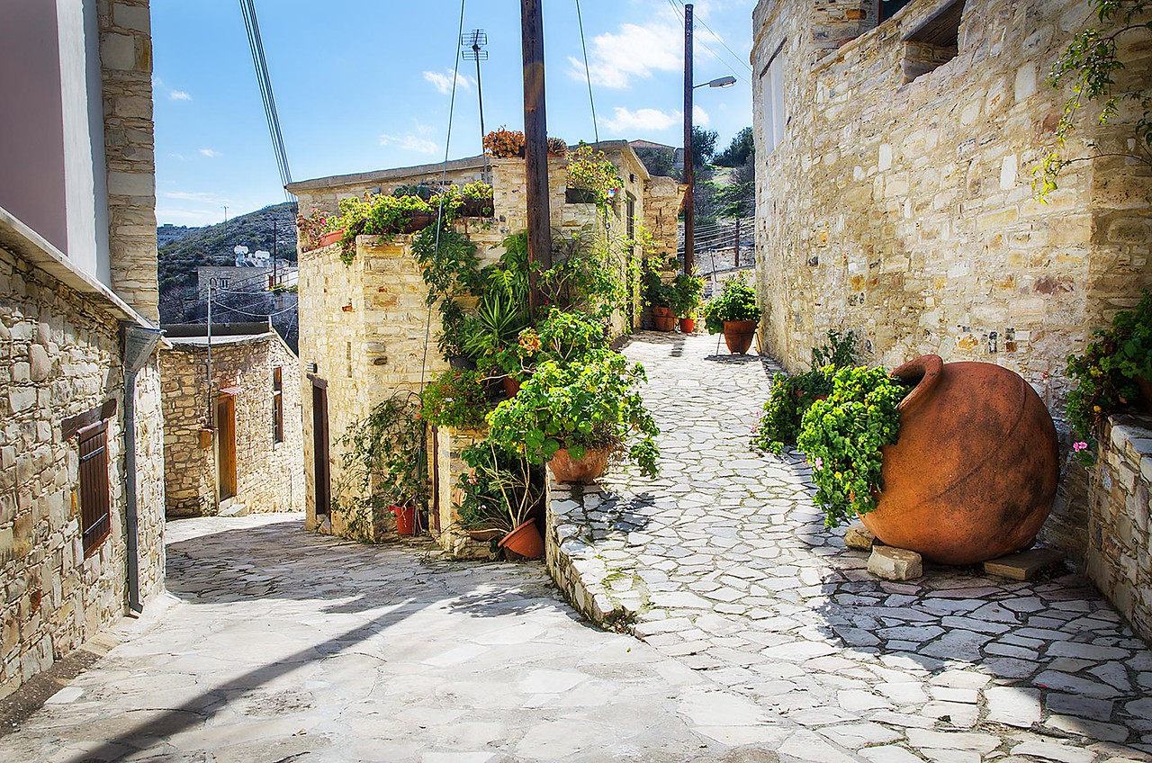 The streets of Vavla | Vavla Rustic Retreat, Cyprus