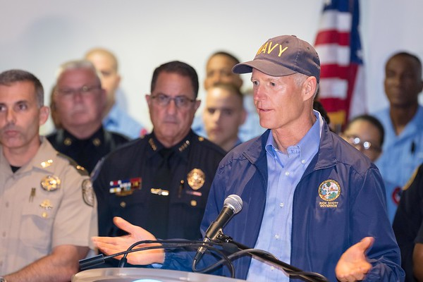 MPD Gov. Rick Scott thanks First Responders 9-25-17