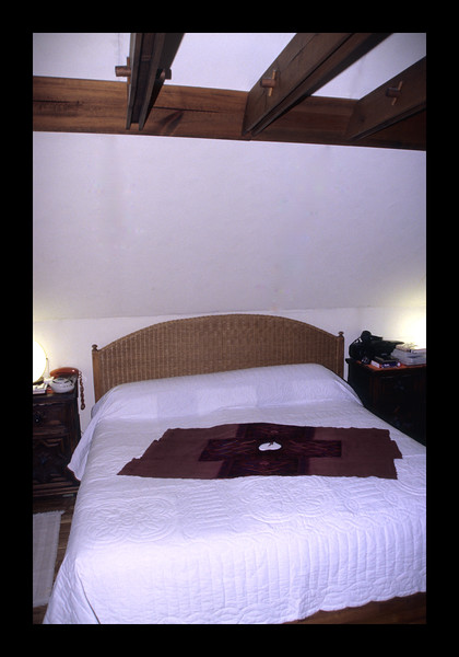 38. Master Bedroom with exposed wooden rafters.jpg