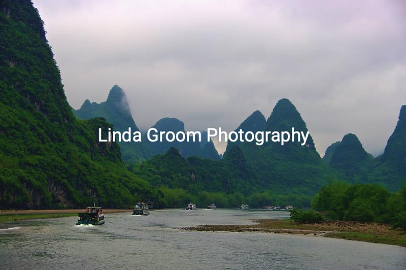 Boats on the Li