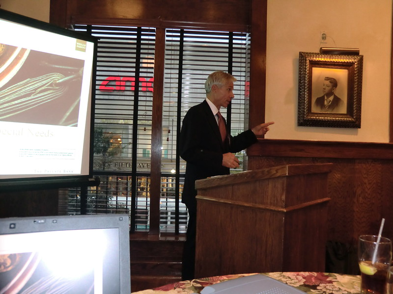 Thank you to our Speaker and Sponsor, Al Behar - Wells Fargo.