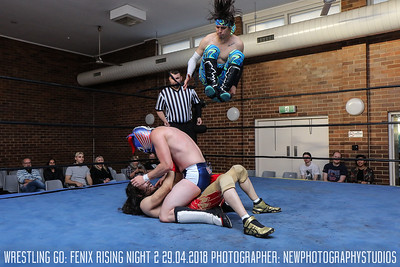 Wrestling Go! - Fenix Rising Night Two 29.04.2018