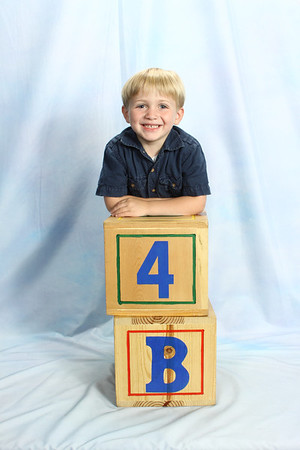 Ben's 4 year old pics