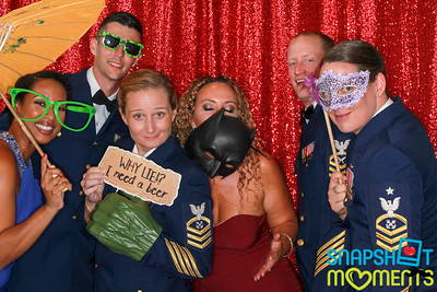 09/07/19 - US Coast Guard Ball - Booth 1 (Red)