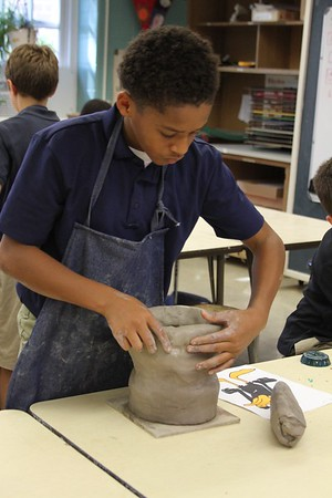 5th Grade - Clay Character Busts