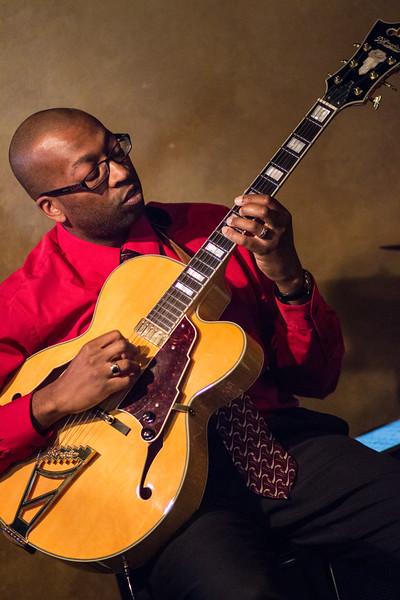 John Burt Quartet at Dégagé Jazz - 2015-07-10