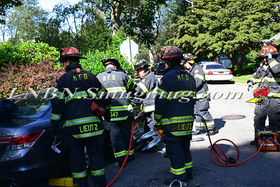 Massapequa F.D. MVA w/ Entrapment Nassau Street & Bay Drive 9-9-13