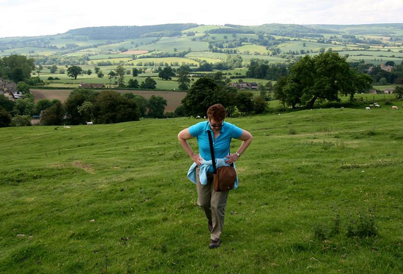 On our hike near Winchcombe