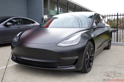 Tesla Model 3 - Solid Black - XPEL Stealth (3)