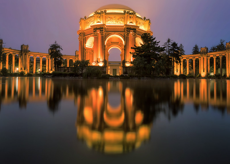 Glowing Palace || San Francisco