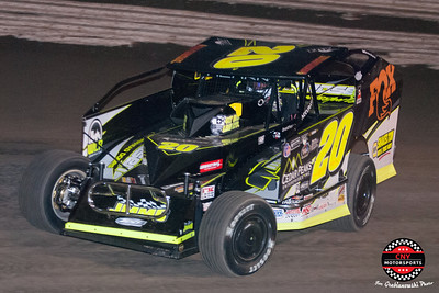 Super DIRTcar Series February 16 2018 Joe Grabianowski Photos