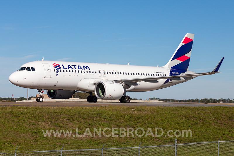 LATAM A320-200N - CC-BHB - MCO