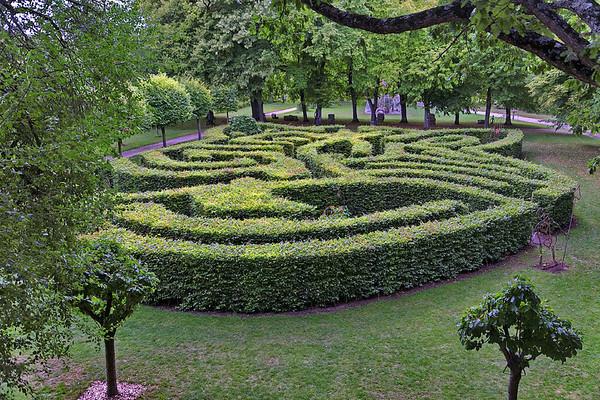 Jardin du Rivau - Le labyrinthe