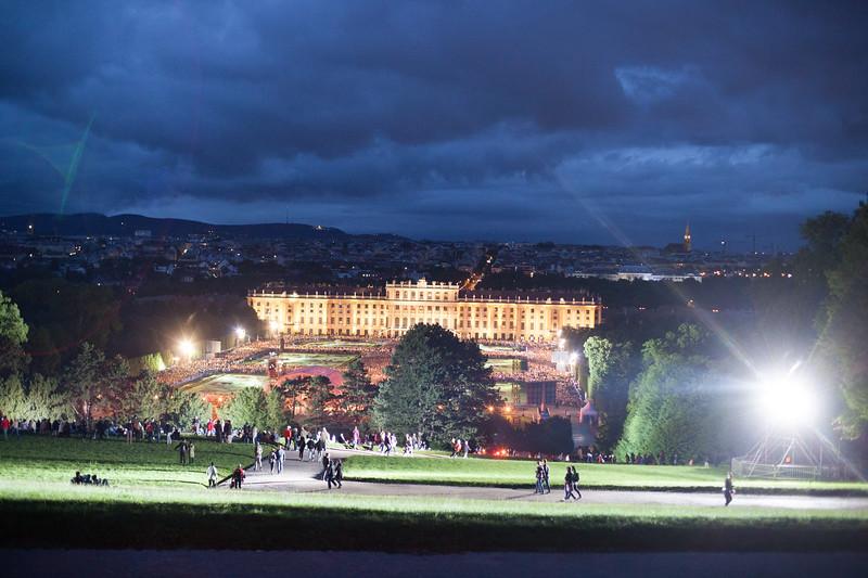 Vienna Philharmonics concert - Scheonbrun Castle, Vienna