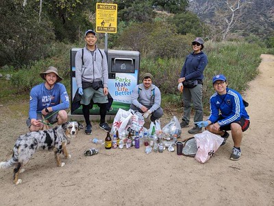 2020.2.23 Echo Mountain Hike and Cleanup