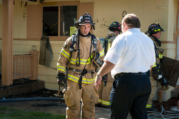 Cville Working Residential Fire Aug 23, 2012